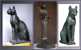 Diosa Bastet (Egipto) Fuente: http://sobreegipto.com