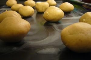 detalle de las galletas