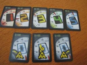 Arriba cartas de marcha y abajo cartas de pérdida de control