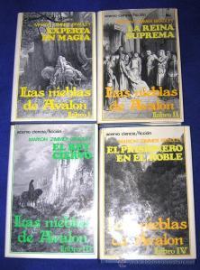 Saga Las nieblas de Avalón.