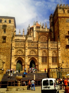Vista desde la plaza de Santa María