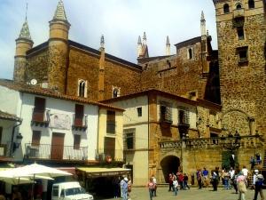 Plaza de Santa María y Monasterio