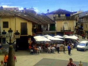 Terrazas de la plaza