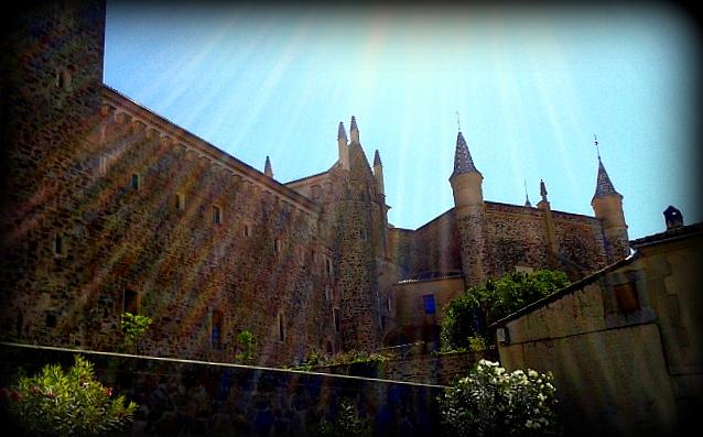 El Monasterio desde la Hospedería