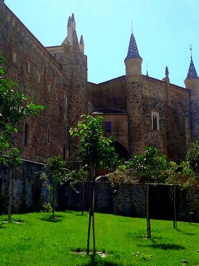 Monasterio desde Hospedería