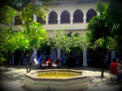 Fuente del patio central